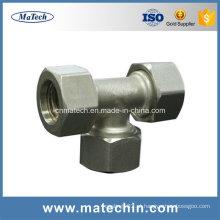 Fábrica de aço inoxidável de alta precisão personalizada para peças de veículos