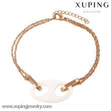 74233-xuping bijoux de bracelet de mode, bijoux de fantaisie new york, bracelets d'amitié à vendre