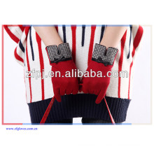 Hot sale fashion lady winter woolen guant