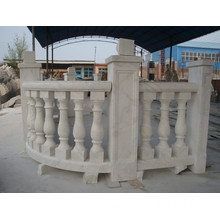 White Marble Balustrade For Sale