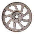 Aluminum OEM die casting auto parts steering wheel