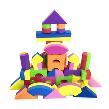 double color EVA foam blocks for kids