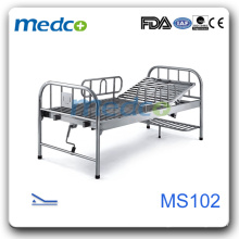 Hot sale!!new style stainless steel hospital bed MS102
