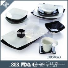 Элегантная изящная фарфоровая прочная посуда из фиесты с начинкой оптом