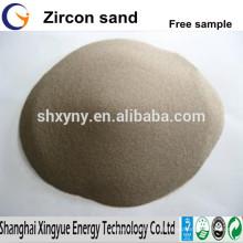 ISO9001 a audité le sable de Zircon de grande pureté à vendre