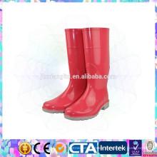 pvc plastic rain boots waterproof ladies gum boots