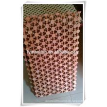 dekorative Holzgitterplatte