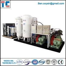 Sistema de Enchimento de Nitrogênio PSA High Purity Cabinet