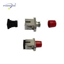 Fornecimento de alta qualidade SC-ST SM SX adaptador de fibra óptica