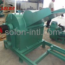 wood shavings crusher for block making machine