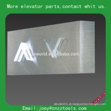 Lanterna do hall do elevador exposição do lcd para o elevador lanterna do salão do elevador