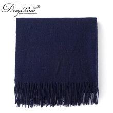 Neueste Design Schal Online-Shopping 180 * 30 cm + 10 * 2 cm Merino Wolle Schals und Schals