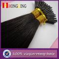 2016 8A Haute Qualité Soyeux Droite 100% Péruvienne Vierge Cheveux Je Pointe Extensions de Cheveux