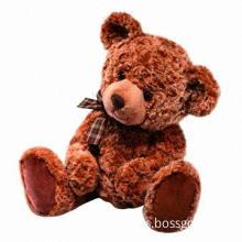 Animal Teddy Bear Soft Toy, Safe for Babies', CE, EN71, ASTM Marks, Soft, Comfortable, Keep-warm