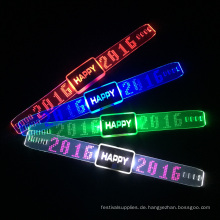 Valentine Occasion 2016 Happy Wishes Led Beleuchtung Armband