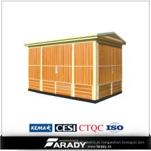 Experiência empacotada elétrica 15kv subestação compacta