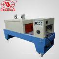 Impulso dispositivo de calor retráctil túnel estufa horno horno envasado máquina embalaje con tubo de cuarzo para el caso plástico de la bebida