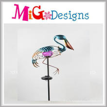 Estaca Solar Toucan Jardim New Design Metal Solar
