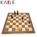 Bestes hölzernes magnetisches Falten-Schach-Spiel-Set