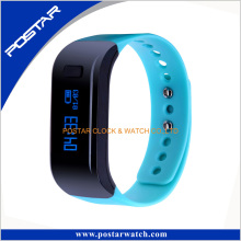 Pedometer Colorful Strape Smart Mobile Wristwatch Téléphone a + qualité