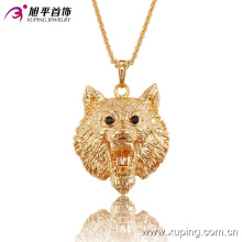 Fashion CZ Elegant 18k Gold-Plated Animals Shape Series Imitation Jewelry Necklace Pendant-32522