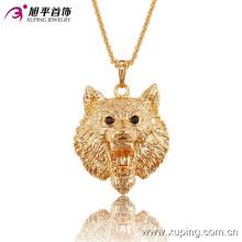 Мода CZ элегантный 18k позолоченные животные форма Серия бижутерии Кулон-32522 ожерелье