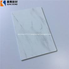 Feuille d'aluminium de finition de marbre de Hotsale