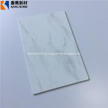 Hoja de aluminio con acabado de mármol Hotsale