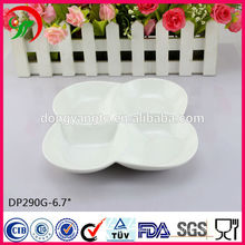 Ceramic plate , porcelain plate , porcelain white four tray