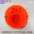Halloween party candy pumpkin barrel