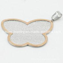 Pendente bonito da jóia da borboleta do aço inoxidável 316L