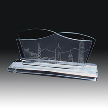 Office Promotional Crystal Name Card Holder
