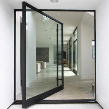 Cheap Interior Center Pivot Door