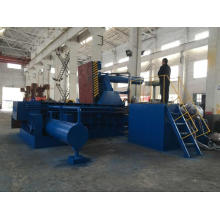 Aluminum Turnings Steel Shavings Recycling Baling Press