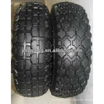 caucho del neumático 3.50-8 4.80/4.00-8 para carretilla de rueda / la carretilla de mano piezas