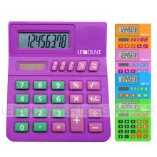 8 dígitos Calculadora de desktop pequena para estudantes / crianças com quarto grande para o número de classe (LC289B)