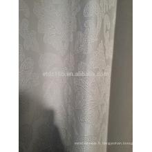 Nouvel arrivé Modern Brief Style 100% Polyester Tissu en rideau et rideau jacquard en forme de chou-fleur
