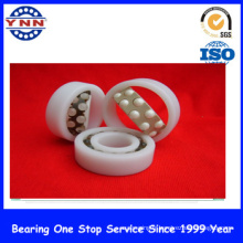Roulement à billes de poussée de ZrO2 blanc en céramique bon marché et stable