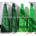 Artificial decorative boxwood topiary tree grass plant