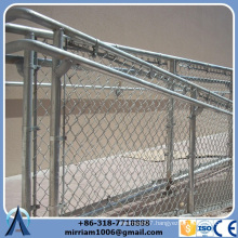 Alibaba china - hot dip galvanized perimeter security used chain link fence