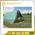 Green Tarp Cover UV Resistant Hay Cover Tarp