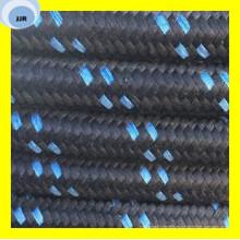 Premium Quality One trenza de alambre de acero de alta resistencia cubierta textil R5 manguera