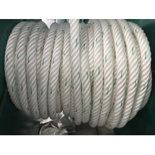 6-Strand Chemical Fiber Ropes Mooring Rope Polypropylene, Polyester Mixed, Nylon Rope