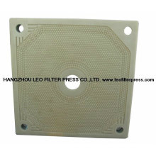 Plaque filtrante de presse de filtre de membrane de pression élevée de pp pp de la presse de filtre de Leo
