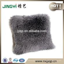 2018 Wholesale Fancy Mongolian Lamb Cushion