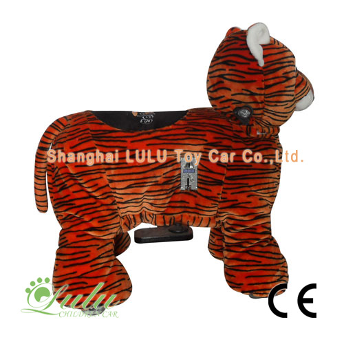 Tigre animaux Rider Coin Operated Machine