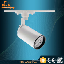 China Fabricante Loja COB LED Track Light / LED Spotlight