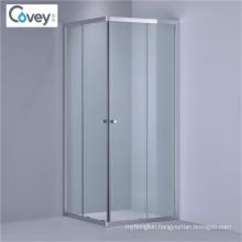 Corner Entry Shower Cubicle/Sliding Shower Enclosure (1-kw08s)