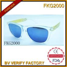 Trans Green Frame Sunglasses for Kids (FKG2000)