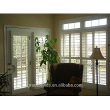 Fashion High Quality Factory Price Stained Outdoor Plantation Shutters